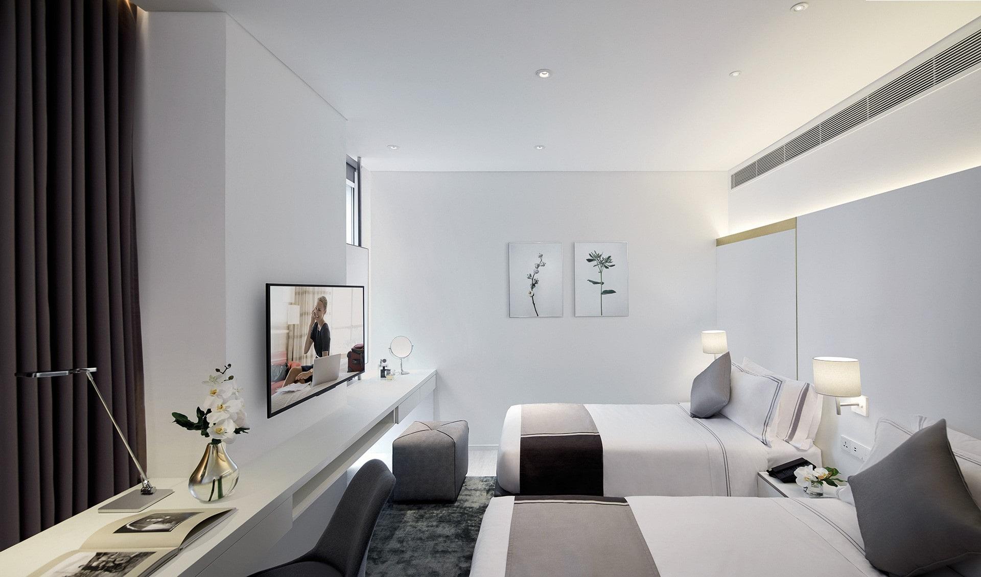 Somerset Maison Asoke Bangkok | Studio Deluxe リビングルーム
